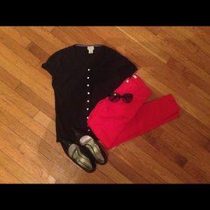 L. L. Bean short sleeved cardigan